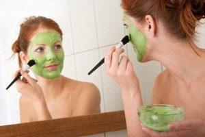 kuru cilt içi maske